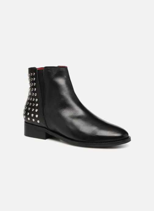 Ankle boots Buffalo MING Black detailed view/ Pair view