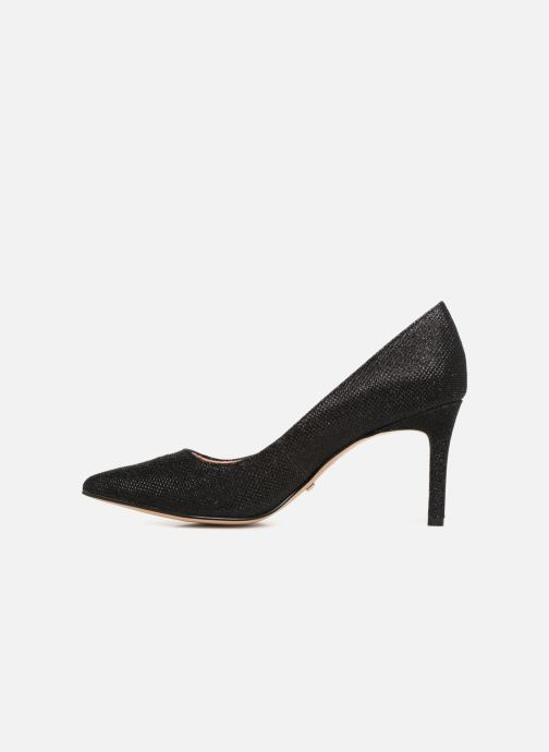 High heels Buffalo H733-C002A-4 Black front view