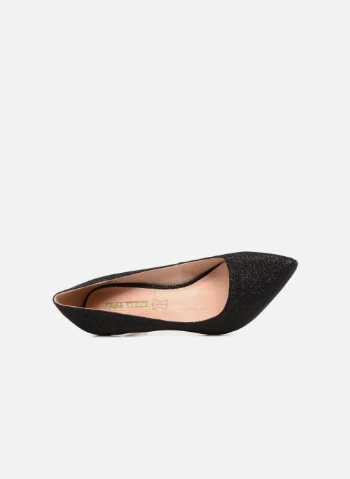 High heels Buffalo H733-C002A-4 Black view from the left