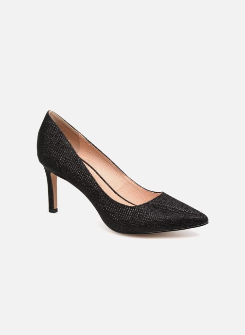High heels Buffalo H733-C002A-4 Black detailed view/ Pair view