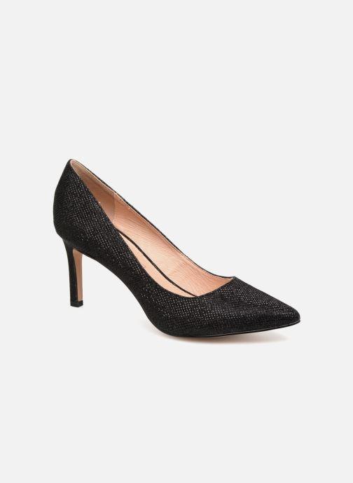 Zapatos de tacón Buffalo H733-C002A-4 Negro vista de detalle / par