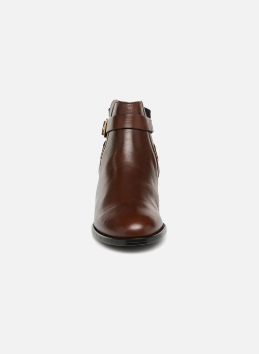 Ankle boots Buffalo AQUASKY Brown model view