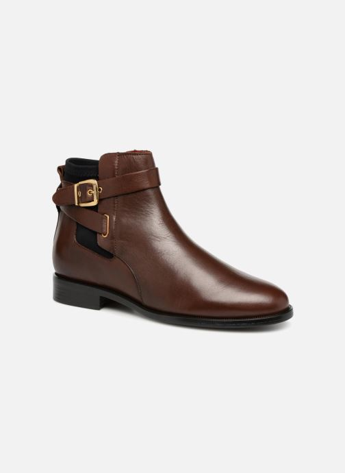 Ankle boots Buffalo AQUASKY Brown detailed view/ Pair view