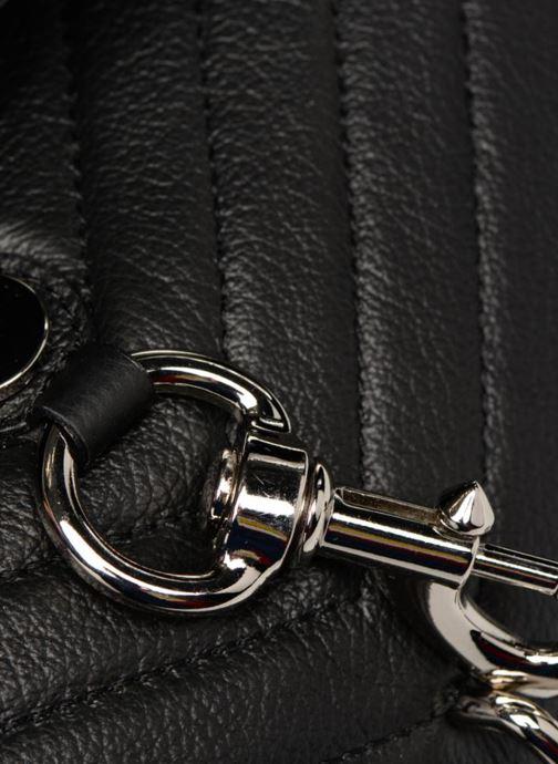 Handtaschen Rebecca Minkoff EDIE FLAP SHOULDER schwarz ansicht von links