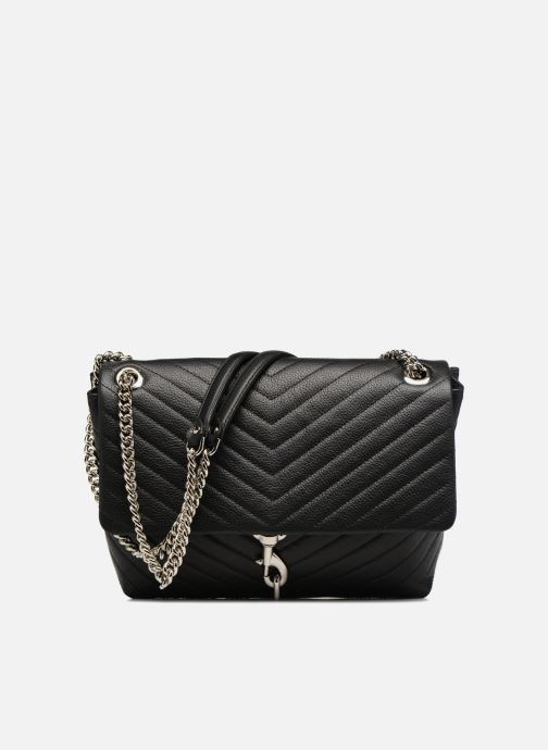 Handtaschen Rebecca Minkoff EDIE FLAP SHOULDER schwarz detaillierte ansicht/modell