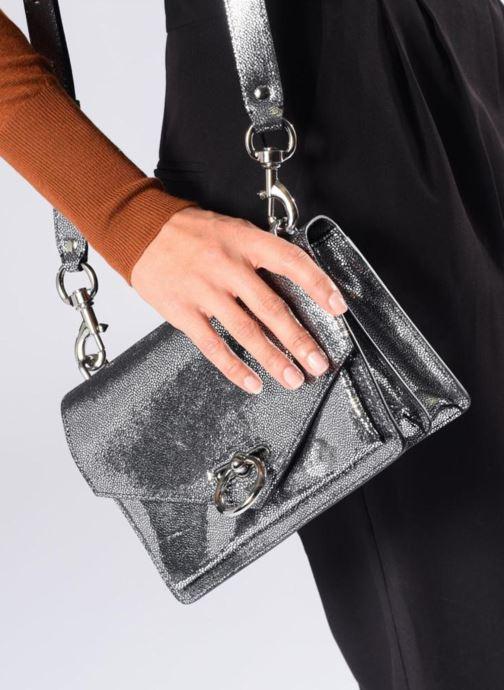 Sacs à main Rebecca Minkoff JEAN MD SHOULDER BAG Noir vue bas / vue portée sac