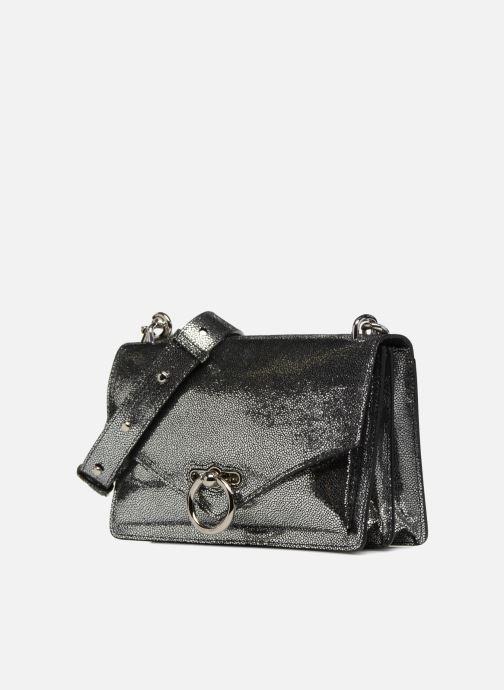 Bolsos de mano Rebecca Minkoff JEAN MD SHOULDER BAG Plateado vista del modelo