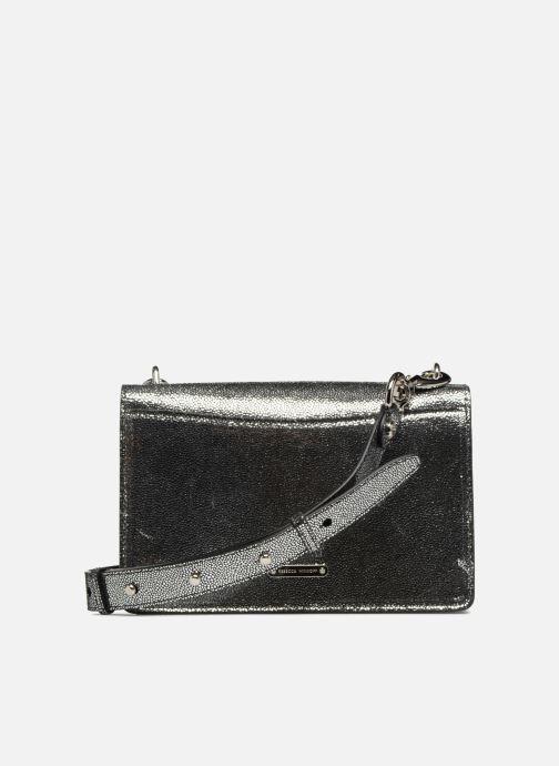 Bolsos de mano Rebecca Minkoff JEAN MD SHOULDER BAG Plateado vista de frente