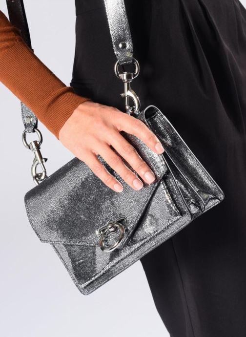 Bolsos de mano Rebecca Minkoff JEAN MD SHOULDER BAG Plateado vista de abajo