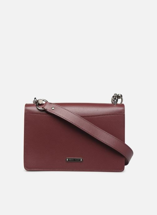 Sacs à main Rebecca Minkoff JEAN MD SHOULDER BAG Bordeaux vue face