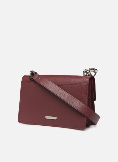 Sacs à main Rebecca Minkoff JEAN MD SHOULDER BAG Bordeaux vue droite