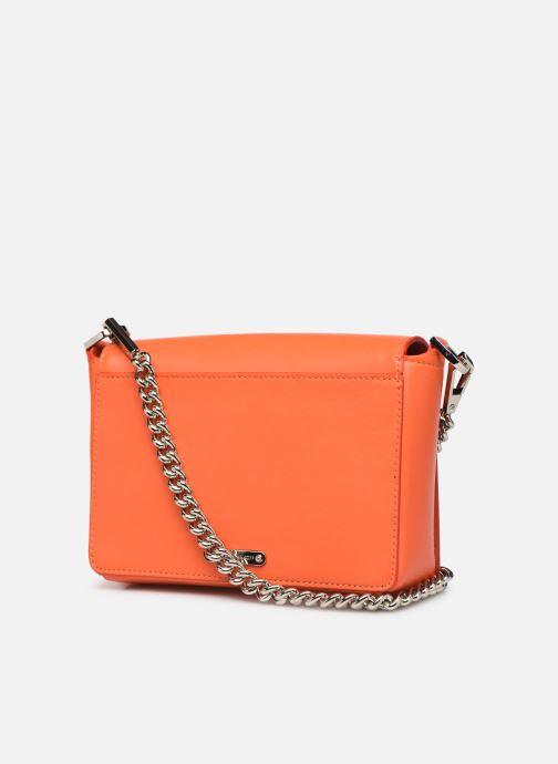 Handbags Rebecca Minkoff MAB FLAP CROSSBODY Orange view from the right