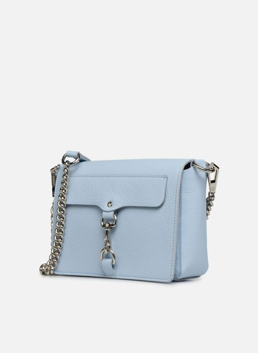 Bolsos de mano Rebecca Minkoff MAB FLAP CROSSBODY Azul vista del modelo