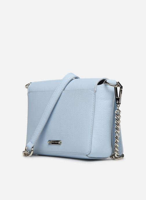 Bolsos de mano Rebecca Minkoff MAB FLAP CROSSBODY Azul vista lateral derecha