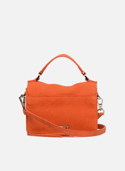 Sacs à main Rebecca Minkoff MINI DARREN Orange vue face
