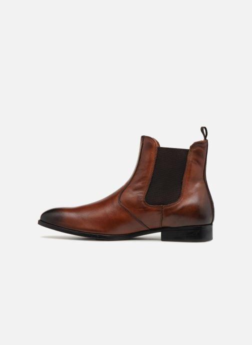 Boots en enkellaarsjes Marvin&Co Luxe Noukla - Cousu Blake Bruin voorkant