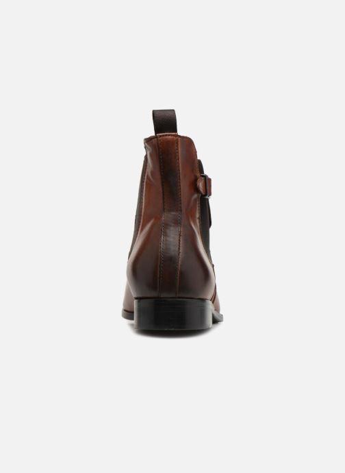 Boots en enkellaarsjes Marvin&Co Luxe Noukla - Cousu Blake Bruin rechts