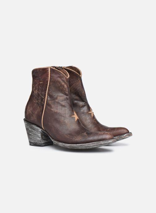 Bottines et boots Mexicana Star 3 Marron vue 3/4