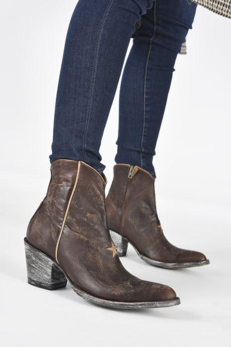 Bottines et boots Mexicana Star 3 Marron vue bas / vue portée sac