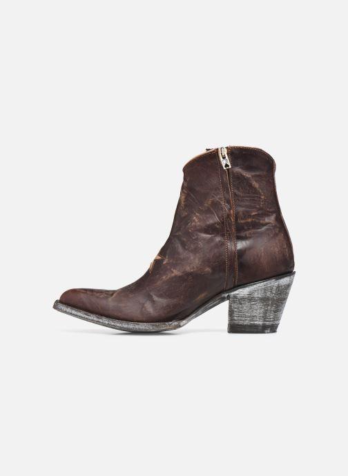 Bottines et boots Mexicana Star 3 Marron vue face