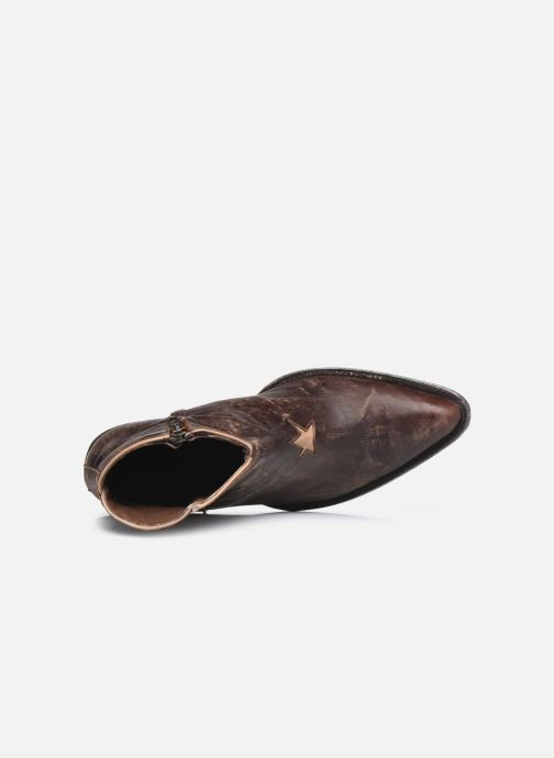 Bottines et boots Mexicana Star 3 Marron vue gauche
