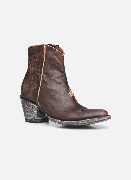 Boots en enkellaarsjes Mexicana Star 3 Bruin detail