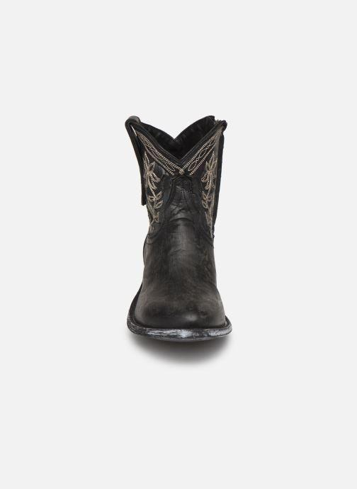Bottines et boots Mexicana Cocozipper Noir vue portées chaussures