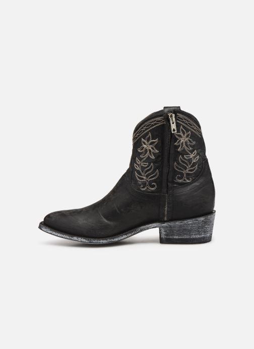 Bottines et boots Mexicana Cocozipper Noir vue face