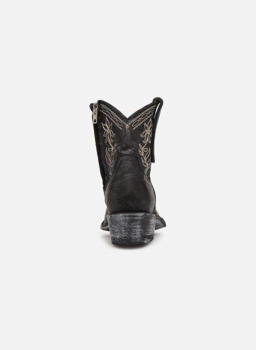 Bottines et boots Mexicana Cocozipper Noir vue droite