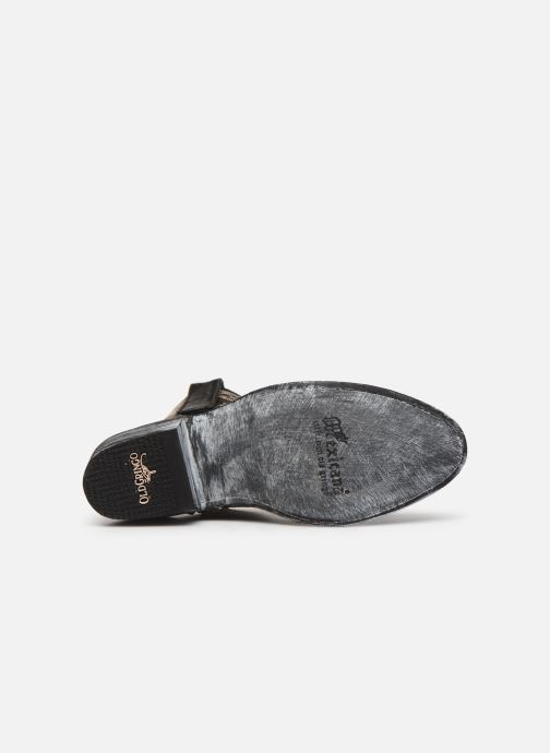 Botines  Mexicana Cocozipper Negro vista de arriba