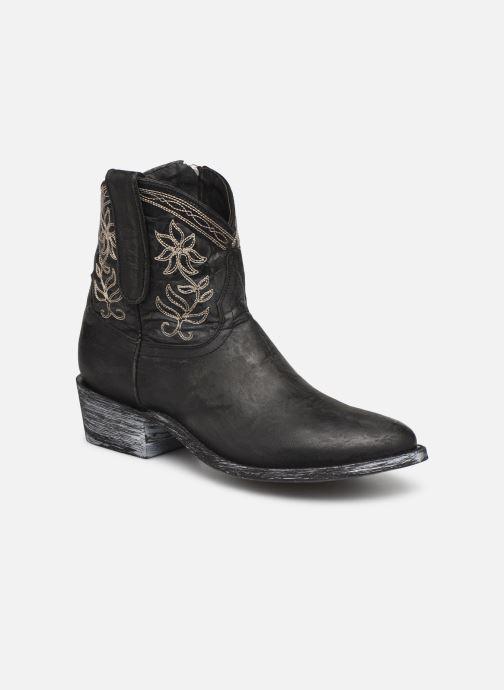 Bottines et boots Mexicana Cocozipper Noir vue détail/paire
