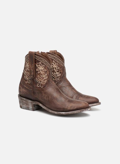 Bottines et boots Mexicana Cocozipper Marron vue 3/4