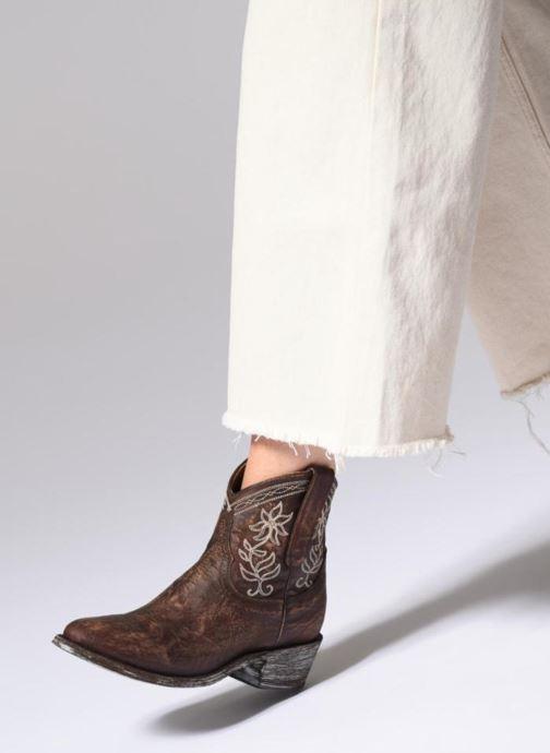 Bottines et boots Mexicana Cocozipper Marron vue bas / vue portée sac