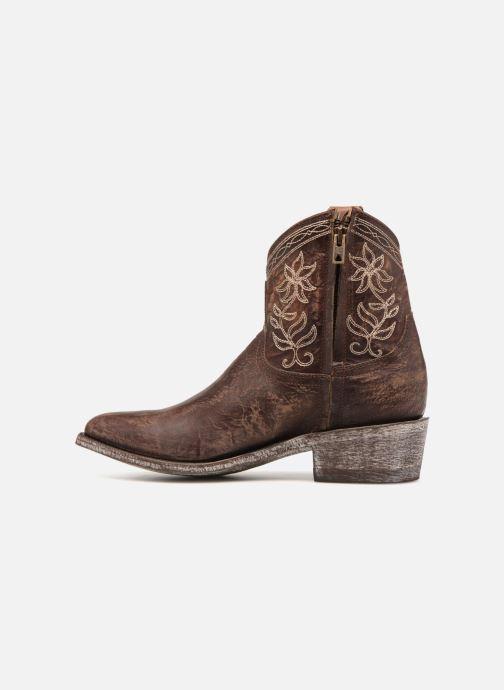 Brass Cocozipper Boots Et Mexicana beige Bottines N0wn8vmO