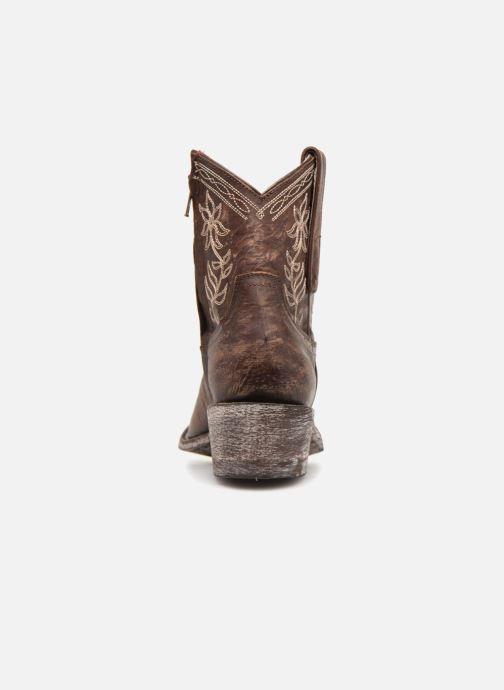 Bottines et boots Mexicana Cocozipper Marron vue droite