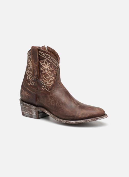 Bottines et boots Mexicana Cocozipper Marron vue détail/paire