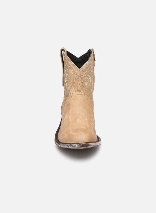 Bottines et boots Mexicana Cocozipper Beige vue portées chaussures