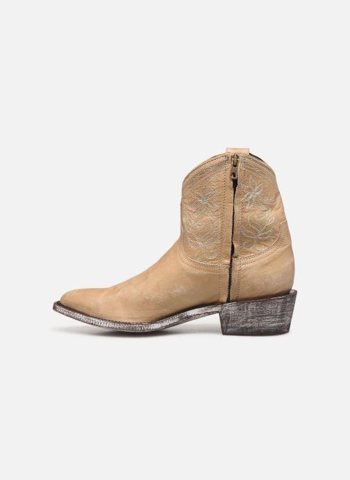 Boots en enkellaarsjes Mexicana Cocozipper Beige voorkant