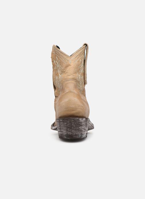 Boots en enkellaarsjes Mexicana Cocozipper Beige rechts