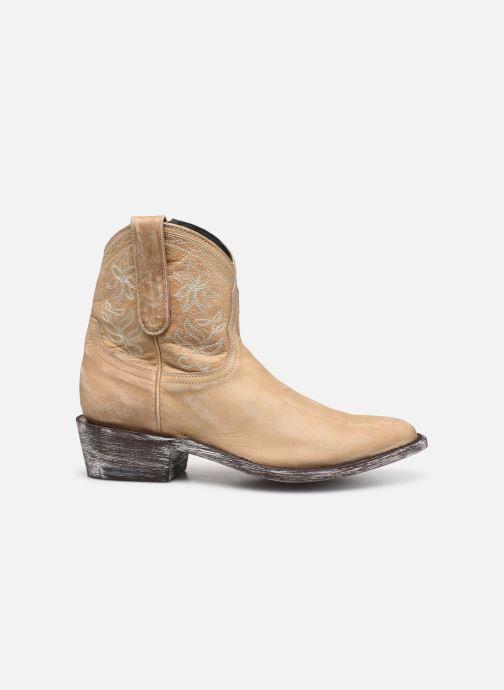 Boots en enkellaarsjes Mexicana Cocozipper Beige achterkant