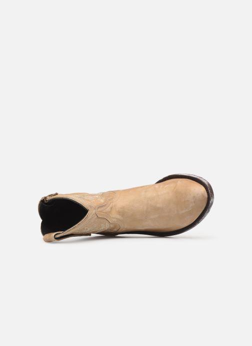 Boots en enkellaarsjes Mexicana Cocozipper Beige links