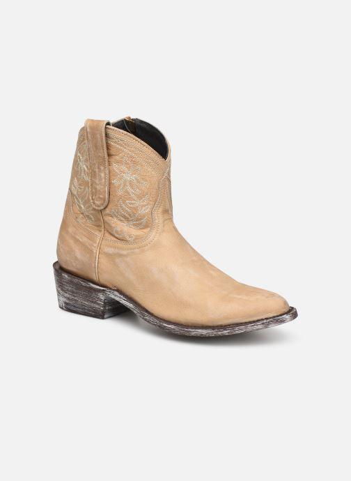 Boots en enkellaarsjes Mexicana Cocozipper Beige detail