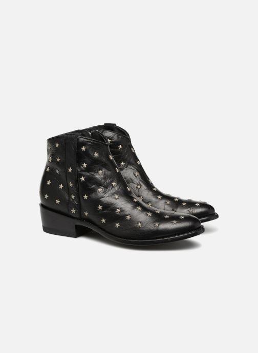 Bottines et boots Mexicana Etoile Noir vue 3/4