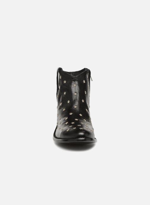 Botines  Mexicana Etoile Negro vista del modelo