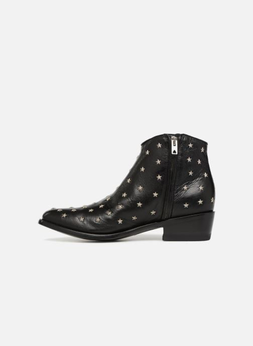 Boots en enkellaarsjes Mexicana Etoile Zwart voorkant
