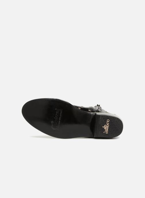 Botines  Mexicana Etoile Negro vista de arriba