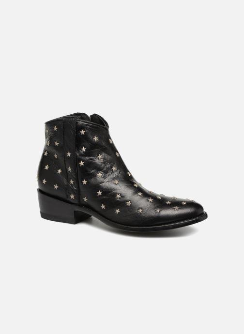 Boots en enkellaarsjes Mexicana Etoile Zwart detail