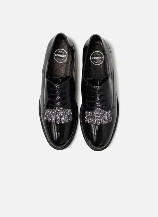 Zapatos con cordones Made by SARENZA 80's Disco Girl Chaussures à Lacets #2 Negro vista del modelo