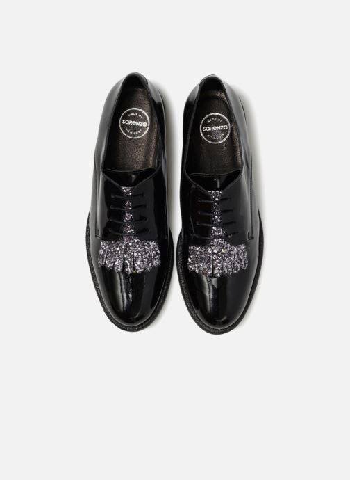 Scarpe con lacci Made by SARENZA 80's Disco Girl Chaussures à Lacets #2 Nero modello indossato