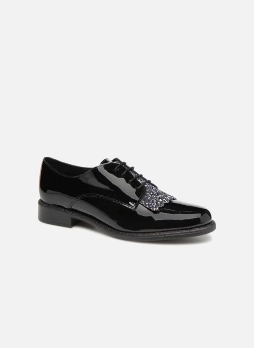 Zapatos con cordones Made by SARENZA 80's Disco Girl Chaussures à Lacets #2 Negro vista lateral derecha